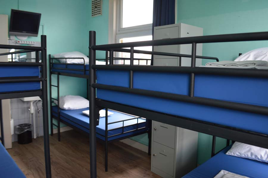 Bed In 6 Bed Dormitory Room
